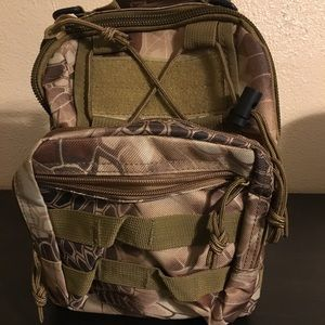 Military sling mini back pack